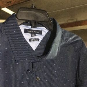 Classic fit button up